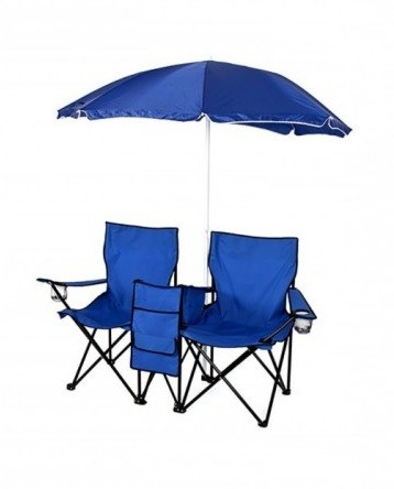 Beach pack (chairs, beach umbrella, mat)